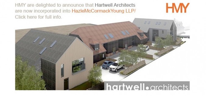Hartwell Architects have been incorporated into Hazle McCormack Young LLP (HMY)