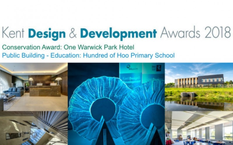 HMY win 2 of 9 Kent Design & Development Awards